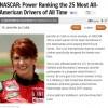 Jennifer Jo Cobb makes Bleacher Report's Top 25