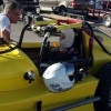 Michele's first time in a Thunder Roadster AND racing Circle Track!