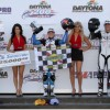 AMA Pro rider elbows her way into the record book with win at Daytona