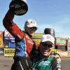 COURTNEY FORCE WINS HER FIRST WALLY AT SEATTLE