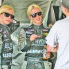 Racing's Cope twins look good, go fast