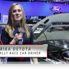 Erika Detota at the NY Auto Show
