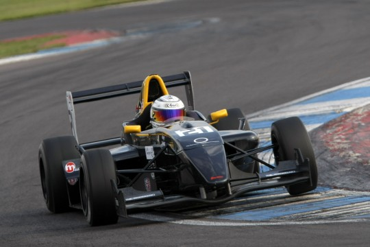 Laura Tillett in action at Donington Park