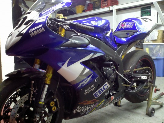 An amazing new machine that will take me to new levels I never dreamed of!!! Graves Motorsports built my 2006 Yamaha R1 for the 2012 season. (gravesport.com)