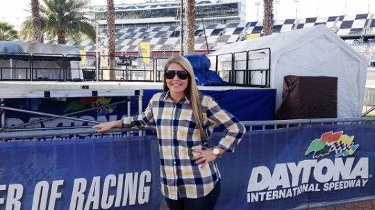 Johanna Long, Daytona, Nationwide, NASCAR