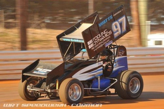 Brie Hershey Sprint Car