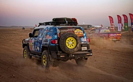 Rallye Aicha des Gazelles FJ Cruiser