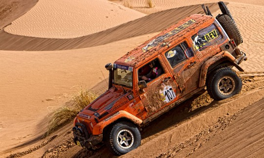 Jeep Rubicon, Rally Morocco,