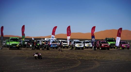 Start Line Rallye Aicha des Gazelles