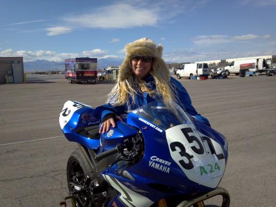 Krystyna Kubran Las Vegas with WERA