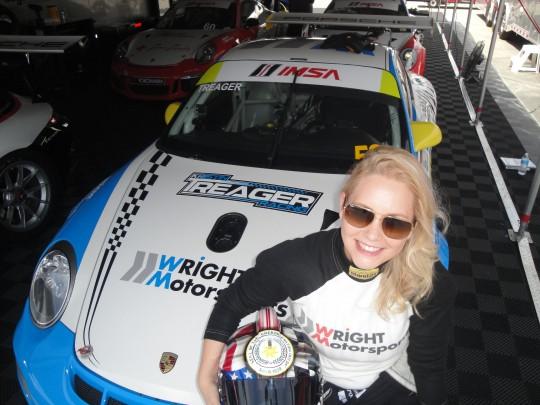 Kristin Treager at Mazda Raceway Laguna Seca